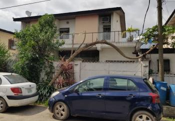a Well–built 4 Bedroom Fully Detached House with 2 Rooms Bq Sitting on a Plot of Land, Ilupeju Estate, Ilupeju, Lagos, Detached Duplex for Sale