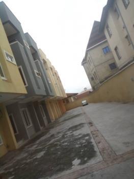5 Bedroom Terrace Duplex at Ikeja in a Well Secured Estate, Akora Estate, Adeniyi Jones, Ikeja, Lagos, Terraced Duplex for Rent