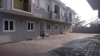 Well Finished 4 Bedroom Terrace Duplex with Study and Bq, Atlantic View Estate, Off Alpha Beach Road, Chevy View Estate, Lekki, Lagos, Terraced Duplex for Sale