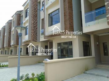 Nice 4 Bedroom Terrace Duplex, Osapa, Lekki, Lagos, Terraced Duplex for Rent
