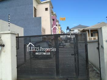 Nice 4 Bedroom Terraced Duplex with Bq, Osapa, Lekki, Lagos, Terraced Duplex for Rent