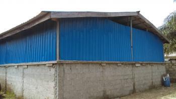 a Mini Warehouse and a 3 Bedroom Bungalow on a Plot of Land, Ogunfayo Street, Eputu, Ibeju Lekki, Lagos, Warehouse for Rent
