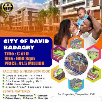 Land for Sale at City of David Estate, Badagry,lagos, Located at The Heart of Badagry with Easy Access to The Lagos-badagry Expressway, Badagry, Lagos, Residential Land for Sale