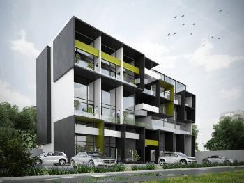 2 Bedroom Maisonette House, Ikate Elegushi, Lekki, Lagos, Terraced Duplex for Sale