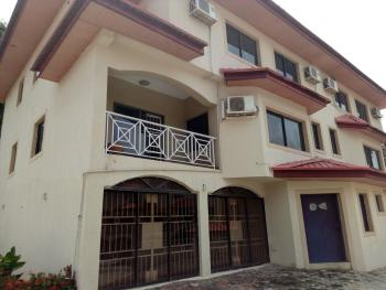 4 Bedroom Terraced Duplex with 1 Bedroom Guest Chalet and 1 Room Servant Quarter with Standby Generator and Air Conditioner., Off Lake Chad Crescent, Maitama District, Abuja, Terraced Duplex for Rent