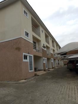 3 Bedroom Terraced Duplex with 1 Room Servant Quarter, Generator and Air Conditioner Available for Office and Residential., Zone 5, Wuse, Abuja, Terraced Duplex for Rent