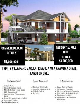 Trinity Villa Park Gardens, Wonderland Park, Awka, Anambra, Residential Land for Sale