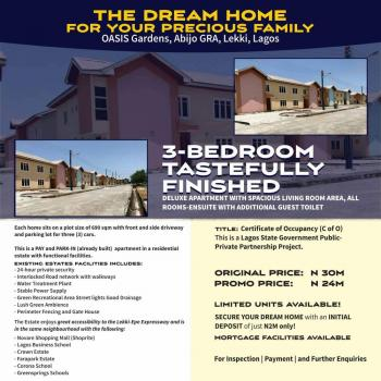 Tastefully Finished 3 Bedroom Deluxe Apartment ,your Dream Home, Abijo Gra, Sangotedo, Ajah, Lagos, Semi-detached Duplex for Sale