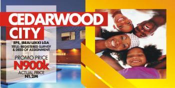 Cedarwood City, Located Along Ketu-epe Expressway Road, Oriyanrin Village, Eredo, L.g.a, Epe, Lagos, Mixed-use Land for Sale