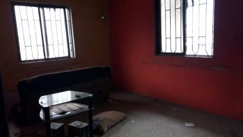 Lovely 2 Bedroom Flat with 1t/1b,(separate) Upstairs, Off Market Street, Shomolu, Lagos, Flat for Rent