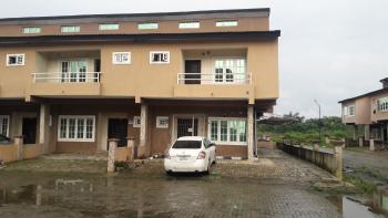 a Beautiful Luxury 3 Bedroom Corner Piece Terrace Duplex at Cheaper Rent, Road 8 (dry Section), Lekki Gardens Estate, Ajah, Lagos, Terraced Duplex for Rent