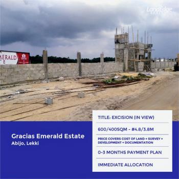 Land, Opposite Abijo Gra, Abijo, Lekki, Lagos, Residential Land for Sale