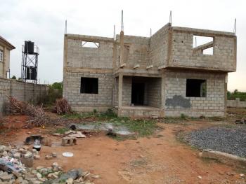 Carcass Duplex, Close to The Living Faith Church, Lugbe District, Abuja, Detached Duplex for Sale