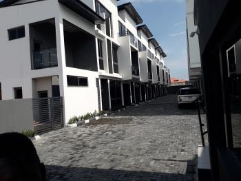 Five Bedroom Terrace with a Room Bq, Off Babatunde Anjous, Lekki Phase 1, Lekki, Lagos, Terraced Duplex for Sale