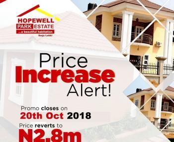 Most Affordable Land, Hopewell Street, Ogogoro, Ibeju Lekki, Lagos, Residential Land for Sale