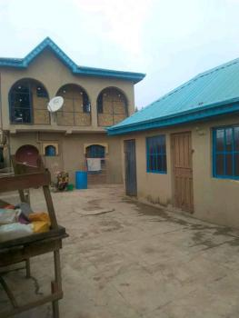 a Storey Building of 4 Bedroom Flat Up with 2 Sitting Rooms and 2 Nos of 2 Bedroom Flats Down with Shop, Adesan Road, Mowe Ofada, Ogun, Block of Flats for Sale