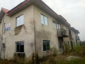 Uncompleted 4 Units of 3 Bedroom Flats in a Good Location, Eputu, Ibeju Lekki, Lagos, Block of Flats for Sale