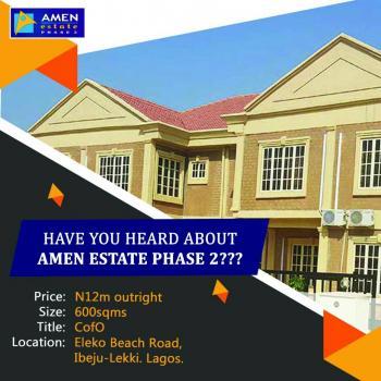 Land for Sale, Amen Estate Phase 2, Eleko, Ibeju Lekki, Lagos, Residential Land for Sale