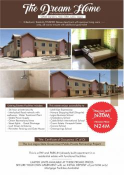 3 Bedroom Tastefully Finished Deluxe Apartment, Oasis Gardens, Abijo Gra, Abijo, Lekki, Lagos, Detached Duplex for Sale