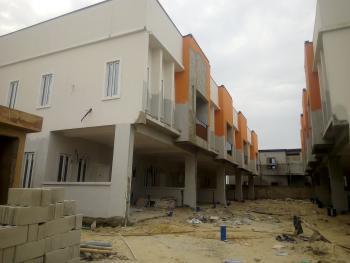 Brand New 4 Bedroom Serviced Terrace Duplex, By Chevron, Lekki Expressway, Lekki, Lagos, Terraced Duplex for Sale