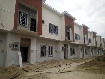 Brand New 4 Bedroom Service Terrace Duplex, By Chevron, Lekki Expressway, Lekki, Lagos, Terraced Duplex for Sale