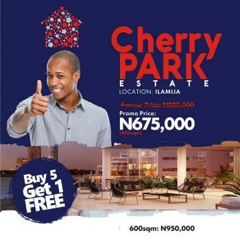 Cherry Park, Ilamija, Off Lekki Epe Expressway, Ibeju Lekki, Lagos, Mixed-use Land for Sale