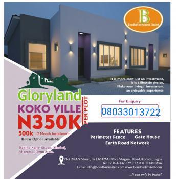 Land, Behinde Niger Biscuit, Mosimi, Ogijo, Sagamu, Ogun, Residential Land for Sale