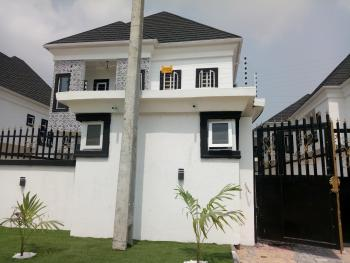 Newly Built and Well Finished 4bedroom Semi-detached Duplex with a Room Bq at White Oak Estate Ologolo Lekki Lagos, White Oak Estate, Ologolo, Lekki, Lagos, Semi-detached Duplex for Sale