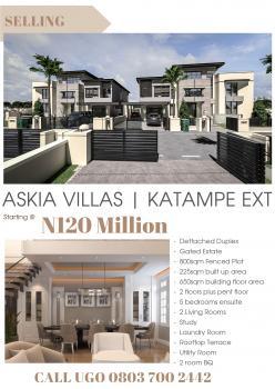5 Bedroom Detached Duplex, Diplomatic Zones, Abuja, Detached Duplex for Sale