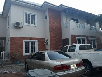Serviced & Well Improved Massive 4 Bedroom Duplex with Servant Quarters in an Estate, By Next Cash N Carry Mall, Off Ahmadu Bello Way, Kado, Abuja, Semi-detached Duplex for Rent