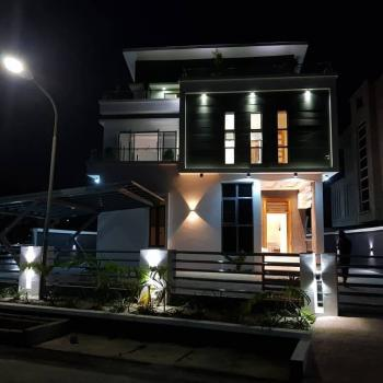 Exquisitely Finished 6 Bedroom Detached House with 2 Rooms Bq, Pinnock Estate, Lekki, Lagos, Detached Duplex for Sale