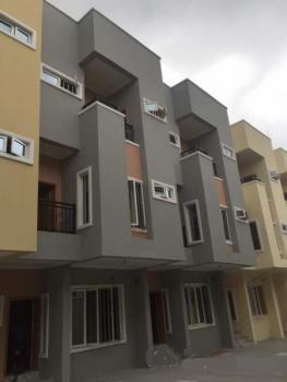 a Block of Brand New Luxury 8 Units of 5 Bedroom Terrace Duplex with a Room Bq Each Sitting on 1600sqm Land, Adeniyi Jones, Ikeja, Lagos, Terraced Duplex for Sale