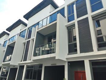 Luxury Five Bedroom Terrace Duplex with a Room Bq, Lekki Phase 1, Lekki, Lagos, Terraced Duplex for Rent
