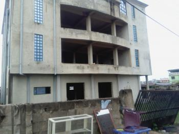 3 Storey Building Open Floor Commercial Property, Lalubu Road, Ita-eko, Abeokuta South, Ogun, Office Space for Sale