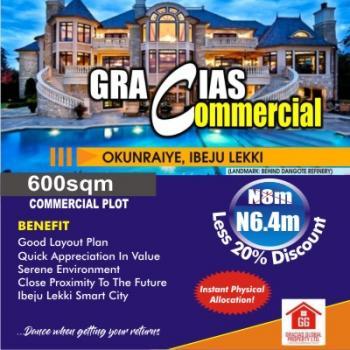 Gracias  Commercial, Okunraiye, Ibeju Lekki, Lagos, Commercial Land for Sale