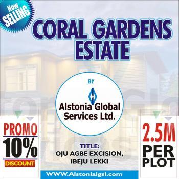 Coral Gardens, Oju Agbe Village, Ibeju Lekki, Ibeju Lekki, Lagos, Land for Sale