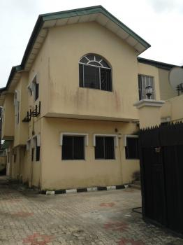 4bedroom Semi-detached House with One (1) Room Boys Quarter in Oba Adeyinka Oyekan Estate, Lekki Phase 1. N3.5m P.a, Oba Adeyinka Oyekan Estate, Lekki Phase 1, Lekki Phase 1, Lekki, Lagos, Semi-detached Duplex for Rent