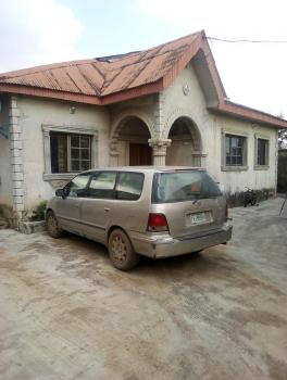 Lovely 4 Bedroom En Suite Bungalow with Just 2 Family in a Compound, Afolabi, Lasu Road, Iba, Ojo, Lagos, Detached Bungalow for Rent