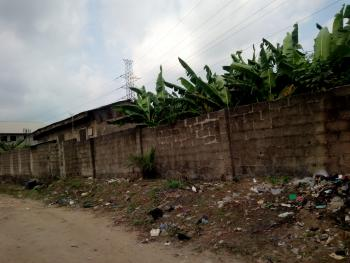 Dry Corner Piece Bare Land, Peace Estate, Soluyi, Gbagada, Lagos, Residential Land for Sale
