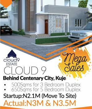 Plot of Land for Sale Close to Centenary City Abuja, Cloud9 Estate, Behind Centenary City, Kuje, Abuja, Residential Land for Sale