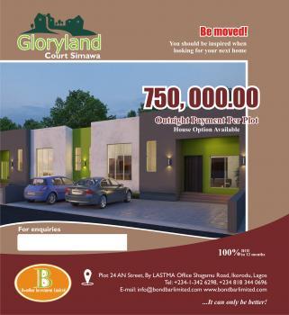 Residential Land, Gloryland Court, Behind Rccg Camp, Also Accessible Through Ikorodu, Simawa, Ogun, Residential Land for Sale