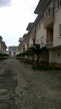 4 Bedroom Terraced with Bq, Western Shuba Estate, Lafiaji, Lekki, Lagos, Terraced Duplex for Rent