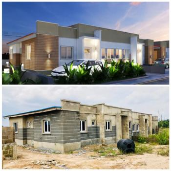 3 Bedroom Semi-detached Bungalow, Asese, Ibafo, Ogun, Semi-detached Bungalow for Sale