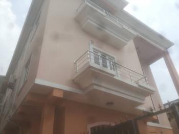 Luxury 2 Bedroom Flat All Rooms En Suite + Guest Toilet, Iwaya, Yaba, Lagos, Flat for Rent