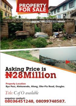 Property, Oke Fia Road, Alekuwodo, Osogbo, Osun, Commercial Land for Sale