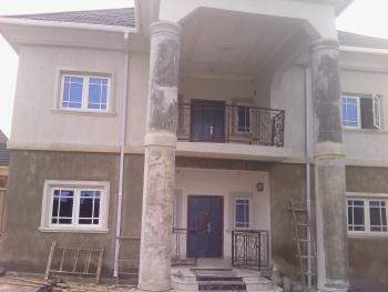 Brad New 4 Bedroom Duplex, By Christees Lodge, Before Jubilee Betel Estate, After Dodoma Filling Station, Lokogoma District, Abuja, Terraced Duplex for Rent
