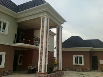 Brad New Well Finished 6 Bedroom Duplex Plus 1 Bedroom Bq, By Christees Lodge, Before Jubilee Betel Estate, After Dodoma Filling Station, Lokogoma District, Abuja, Detached Duplex for Rent