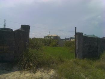 a Fenced Plot of Land, Plot 3, Admiralty Estate, Alpha Beach, Igbo Efon, Lekki, Lagos, Land for Sale