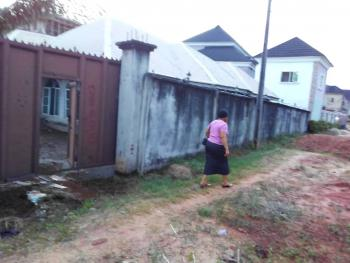 a Four Bedroom Bungalow on One and Half Plots, Fenced., Commissioners Quarters, Behind Govt. House, Awka, Anambra, Detached Bungalow for Sale