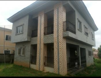 a Brand New and Near Finnished Duplex House with Extra Land Space for a Bq and More, Apo Resettlement, Apo, Abuja, Detached Duplex for Sale